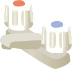 バルブタイプ混合水栓