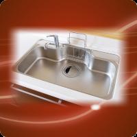 西宮市 キッチン排水つまり水漏れ修理24時間対応