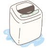 洗濯機排水の水漏れ