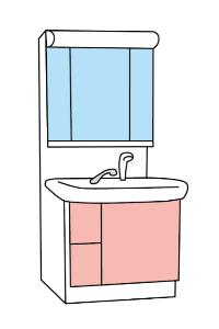 洗面台の水漏注意