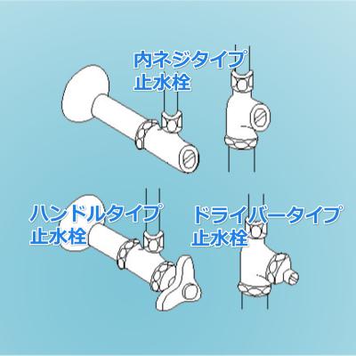 止水栓タイプ説明